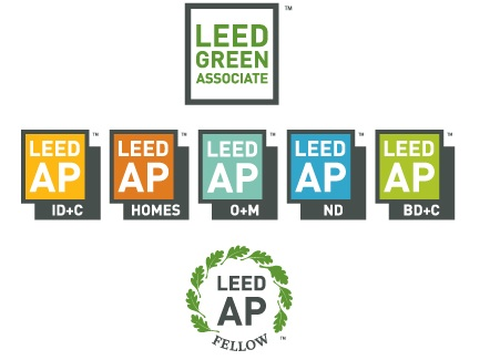 A diagram of the new LEED v3 appelations