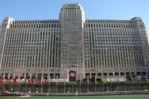 The Merchandise Mart in Chicago, where NeoCon will be held June 15-17, 2009