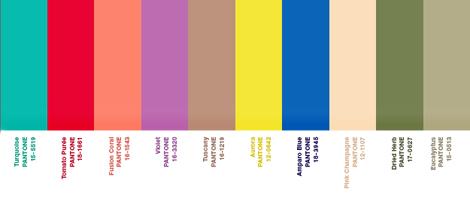 Tendances couleurs 2010 par pantone sleekdesign - Couleur de l annee pantone ...