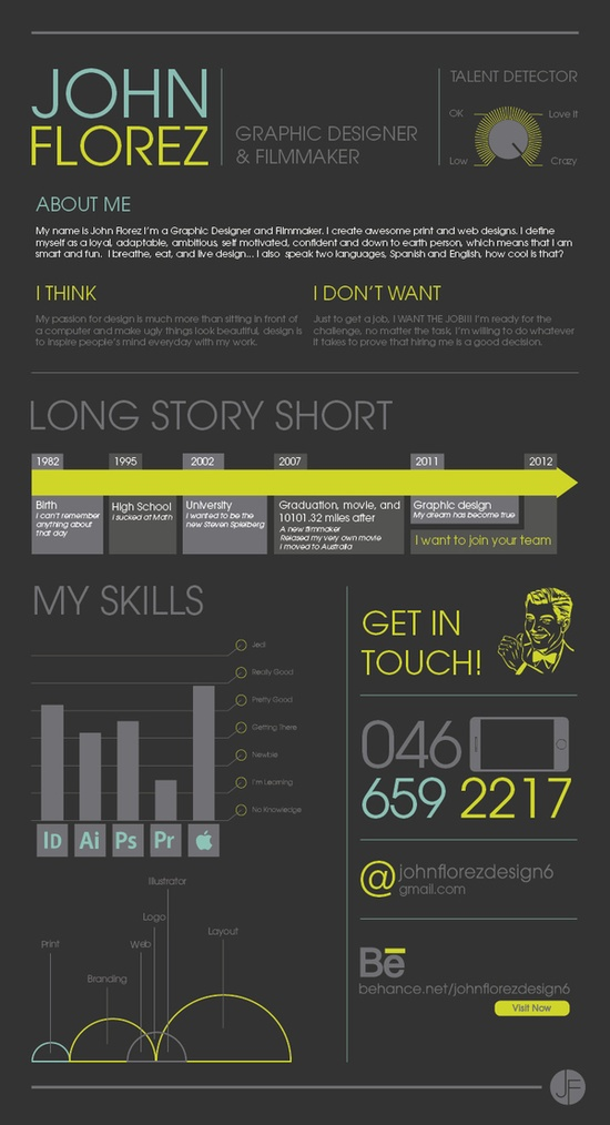 1000  images about infographic resume on pinterest