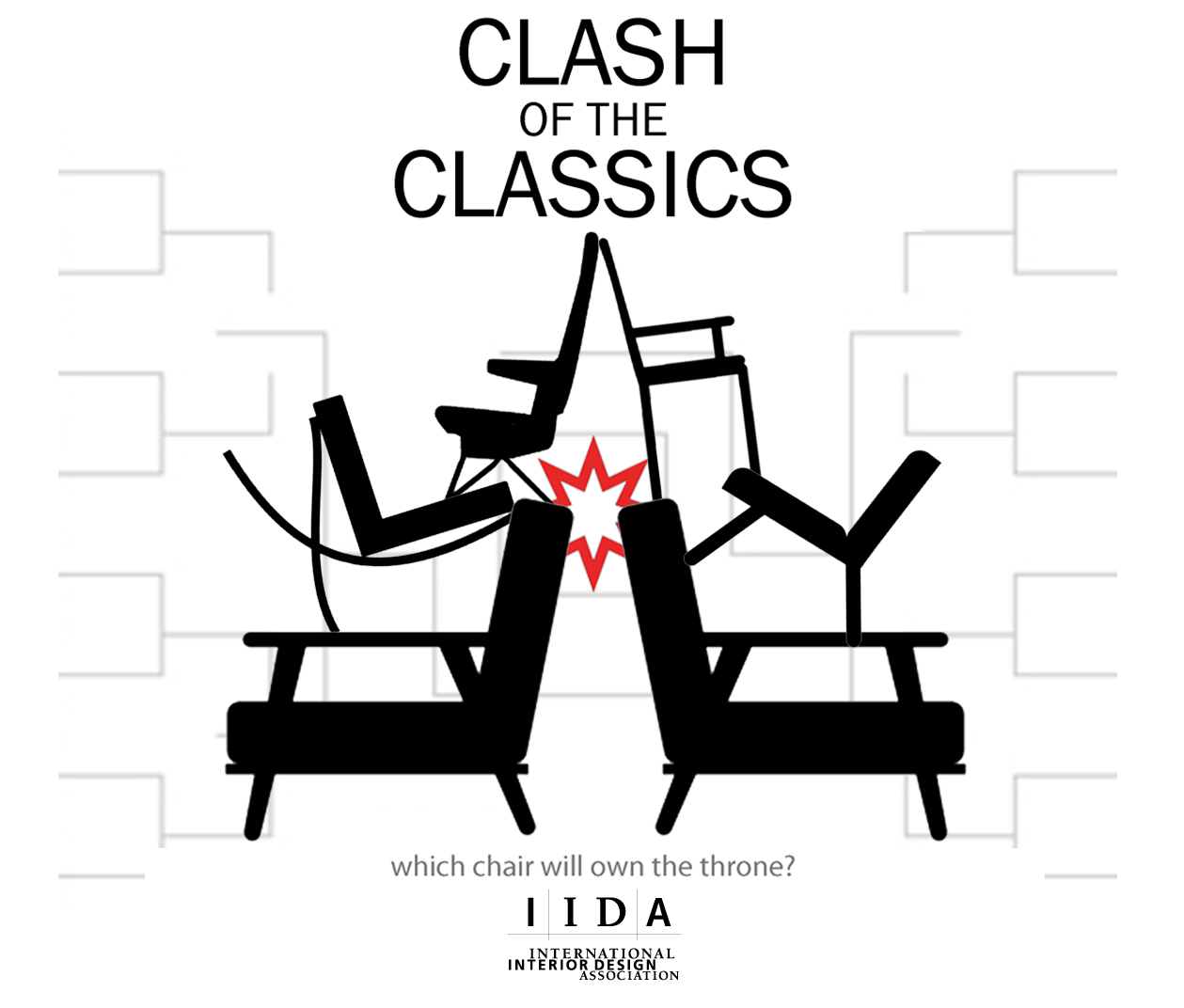 IIDA Would Like To Announce Its Inaugural Clash Of The Classics This Tournament Personal Taste Pitches Classically Well Known And Inventive Chairs
